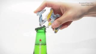 video thumbnail Hangeul(Korean Alphabet) Bottle Opener  - MOON, STAR youtube