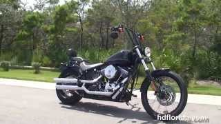 8. Used 2012 Harley Davidson Softail Blackline Motorcycles for sale
