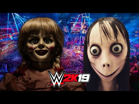 ANNABELLE vs MOMO | WWE 2K19 Gameplay