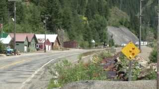 Wallace (ID) United States  city photo : The Silver Valley: WALLACE TO BURKE Canyon Road Tour Part 1 Wallace, Idaho