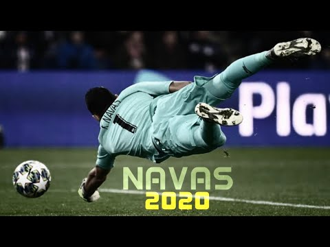 2019/20 | Best Diving Saves | PSG / Real Madrid