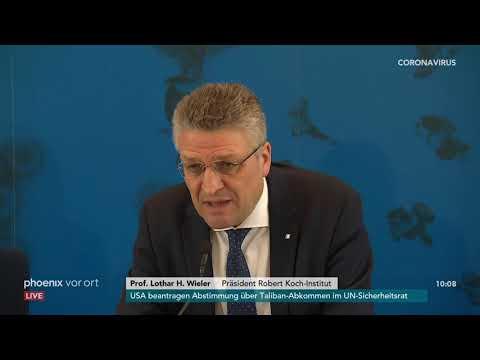 Pressekonferenz des Robert-Koch-Instituts zum aktue ...