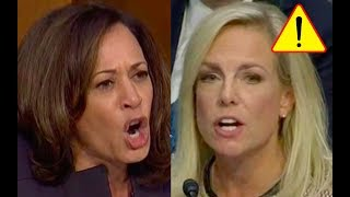 Video Kamala Harris Tries to Bully Kirstjen Nielsen then Kirstjen Gets Fed Up And Fights Back! MP3, 3GP, MP4, WEBM, AVI, FLV Februari 2019