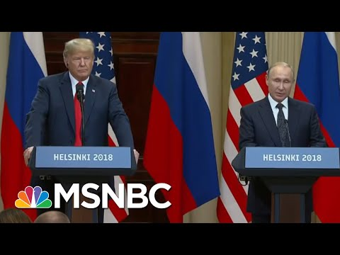 Fmr. Russian Ambassador: President Trump Meeting 'Complete Victory' For Putin | MTP Daily | MSNBC