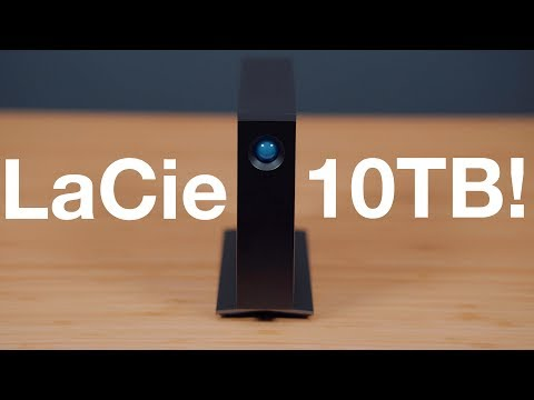 Hands-On with the 10TB LaCie d2 Professional External Hard Drive!