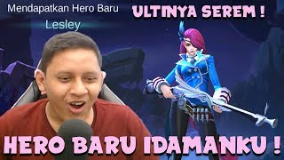Download Video LESLEY HERO BARU IDAMANKU ! - Mobile Legends Indonesia MP3 3GP MP4