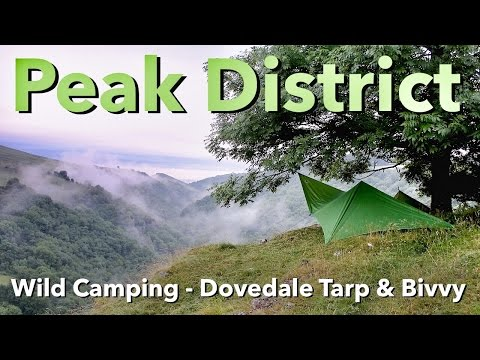 Peak District - Wild Camping - Dovedale Tarp & Bivvy