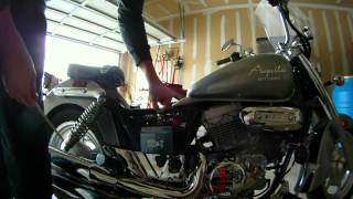 7. Hyosung GV250 Battery Replacement