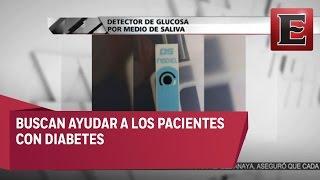 Estudiantes mexicanos crearon un detector de glucosa, que funciona a base de saliva. Buscan ayudar a que los pacientes con...