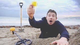 Video I Went Metal Detecting & You Won't Believe What I Found… (Treasure Hunt Challenge) MP3, 3GP, MP4, WEBM, AVI, FLV Juli 2018