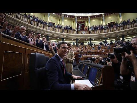 Ισπανία: Ψήφο εμπιστοσύνης πήρε η κυβέρνηση Σάντσεθ