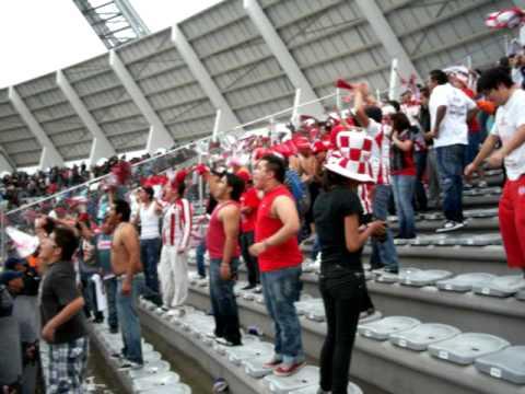 Comando Rojiblanco Lobos Necaxa Febrero 2012 - Comando Rojiblanco - Club Necaxa