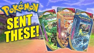 EARLY Pokemon Sword and Shield Cinderace, Rillaboom, and Inteleon Theme Deck Opening!!! by The Pokémon Evolutionaries