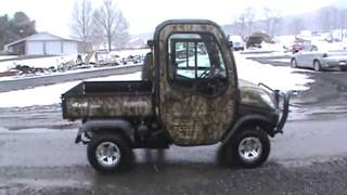 8. 2012 Kubota RTV1100 UTV Utility Vehicle 4x4 Diesel Side By Side Cab Heat Air 160 Hours!!!