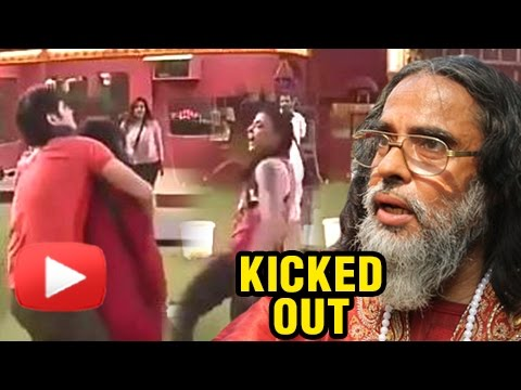 Swami Om Throws His Urine On VJ Bani And Rohan Meh