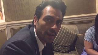 Arjun Rampal talking about MC Sunny Moza