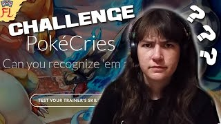 Taking the Insane Mode PokeCries Challenge - THIS POKEMON GAME IS AMAZING by Flammable Lizard