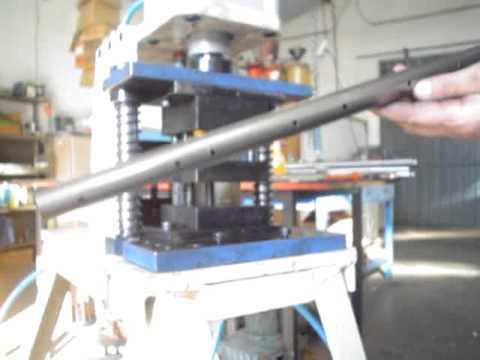 Maquina de estampar tubo