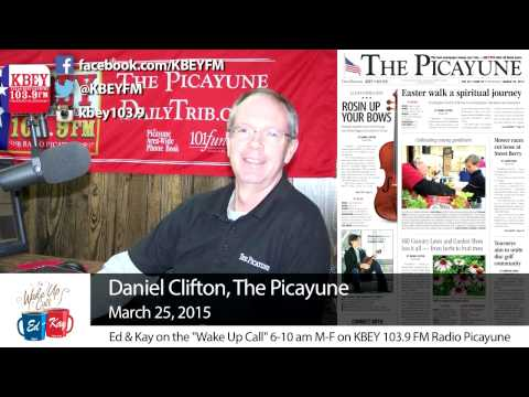 The Picayune Wednesday with Daniel Clifton: March 25, 2015
