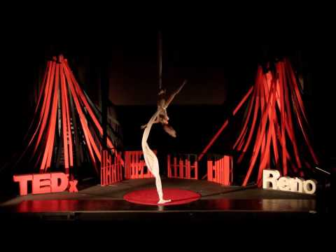 Aerial Silks: Resurgence   Heather Foltz   TEDxReno