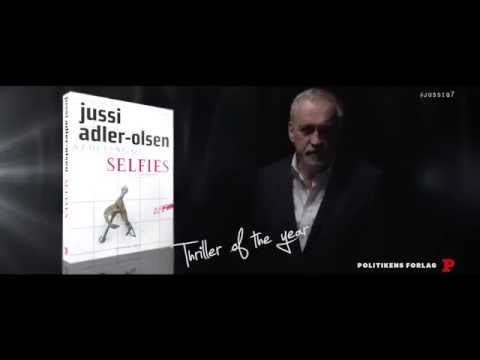 Jussi Adler-Olsen's 7th novel on Department Q out in Denmark 6 Oct 2016: Selfies