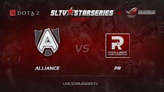 Alliance vs PR, game 1