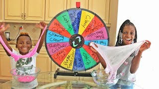 Video MYSTERY WHEEL OF SLIME CHALLENGE MP3, 3GP, MP4, WEBM, AVI, FLV Agustus 2018