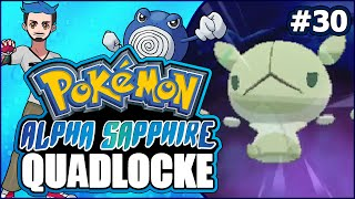 Pokémon AlphaSapphire Randomizer Quadlocke Part 30 | IN THE SHADOW OF... REUNICLUS?! by Ace Trainer Liam