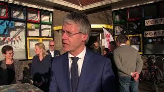 Arie Slob, Minister van Onderwijs  op bezoek