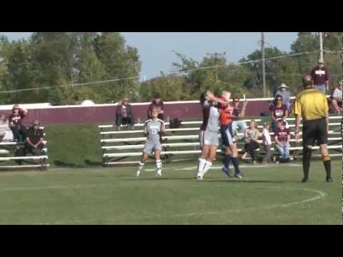 Alma College Women's Soccer - September 25, 2012