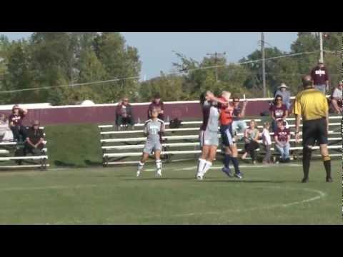 Alma College Women's Soccer - September 25, 2012