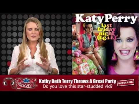 Katy Perry Parties With Glee Cast, Rebecca Black in 'Last Friday Night'
