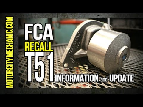 Fca Recall T51 Information And Update