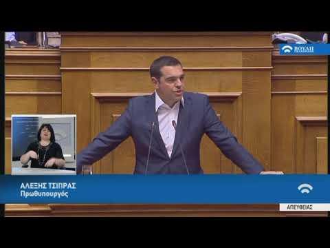 Α.Τσίπρας (Πρωθυπουργός)(Ψήφος εμπιστοσύνης στην Κυβέρνηση)(10/05/2019)