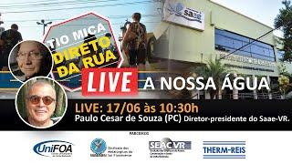 TMDR_LIVE A NOSSA ÁGUA 06/07/2021