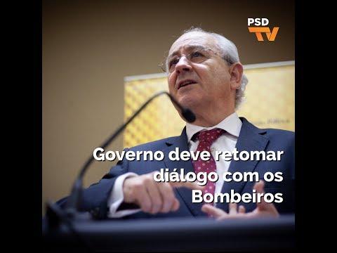 Rui Rio: Governo deve retomar diálogo com os Bombeiros