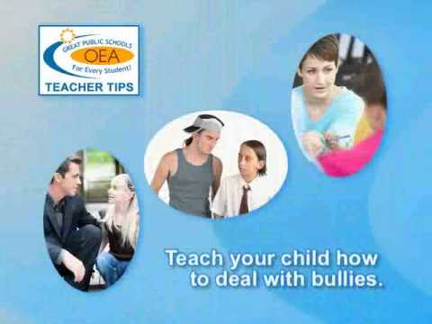 Teacher Tip - Dealing with Bullies