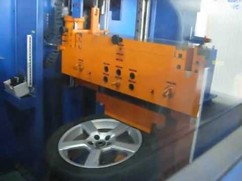Испытание в лаборатории диска WSP Italy W1256 BALTIKA на удар спицы (Volvo)