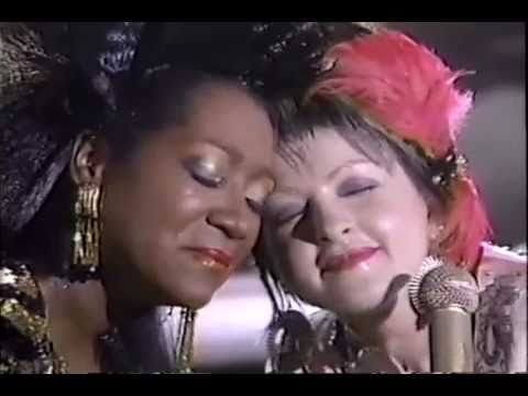 Cyndi Lauper & Patti Labelle Time After Time 1985