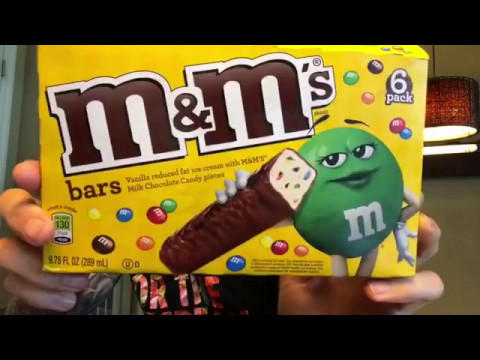 Fun Sized Review: M&M's Ice Cream Bars