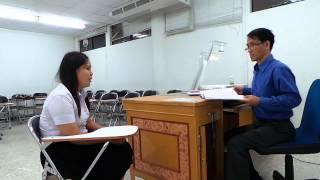 Job Interview Practice SUT Korat Thailand