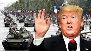 LIVE: President Donald Trump Bastille Day Military Parade Celebration in Paris France, Macron 2017 President Donald Trump's President Donald Trump and ...