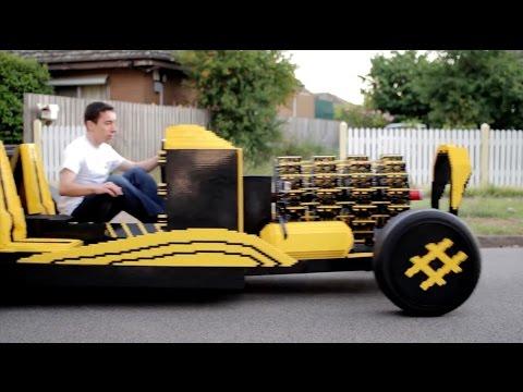 這個21歲的天才用樂高做了一輛時速32KM的「樂高汽車」?!