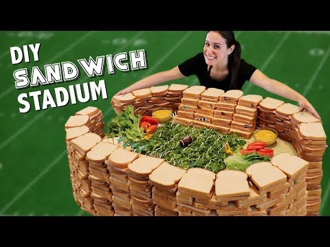 DIY 7 INGREDIENT SANDWICH STADIUM ????