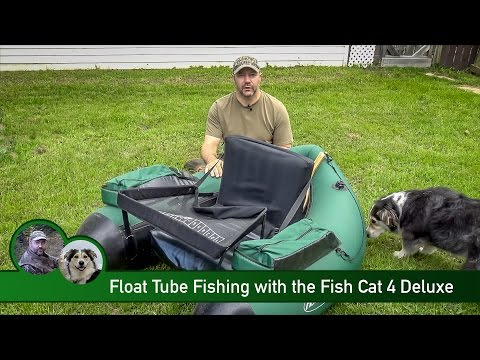 Float Tube Fishing with the Fish Cat 4 Deluxe