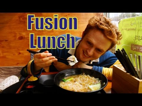 VIDEO: Fusion Korean lunch