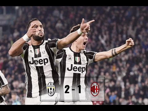 Juventus Vs AC Milan 2-1 - All Goals & Highlights 10/03/2017
