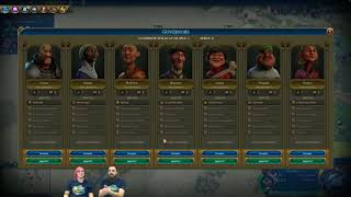 Video Civilization VI News - Rise and Fall, Governors In-Depth MP3, 3GP, MP4, WEBM, AVI, FLV Maret 2018
