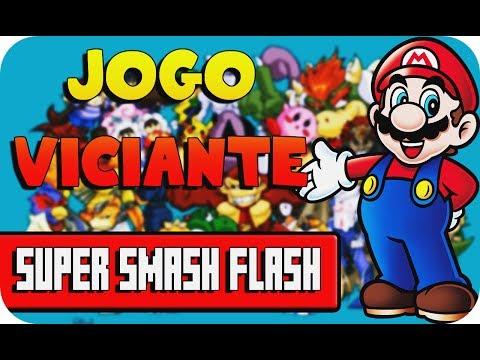 UM DOS JOGOS MAIS VICIANTES DA INTERNET SUPER SMASH FLASH