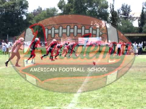 American Football Academy Infantil 2013 Buhos vs Gamos 2013 Highlights
